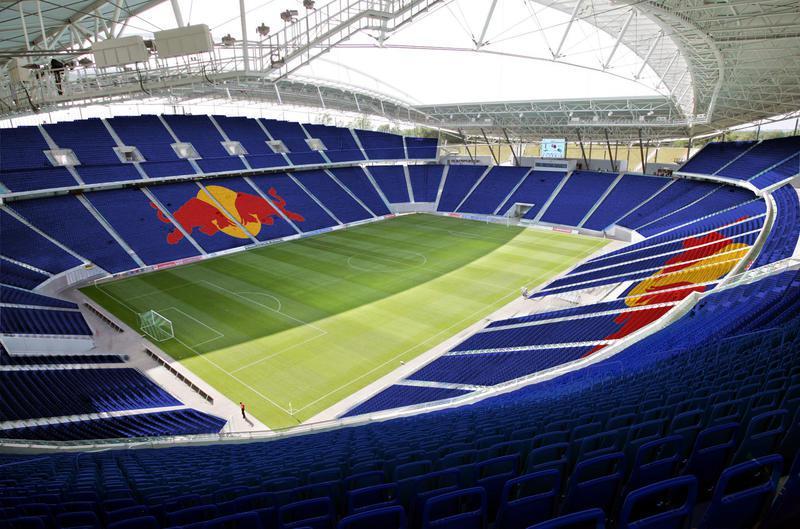 El estadio del Leipzig