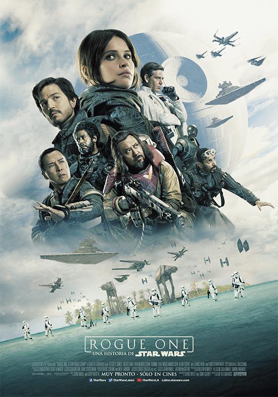 """Lanzan pósters en español de """"Rogue One, una historia de Star Wars"""""""