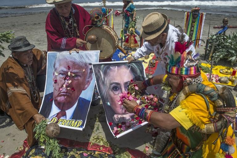 Chamanes contra Trump en Perú