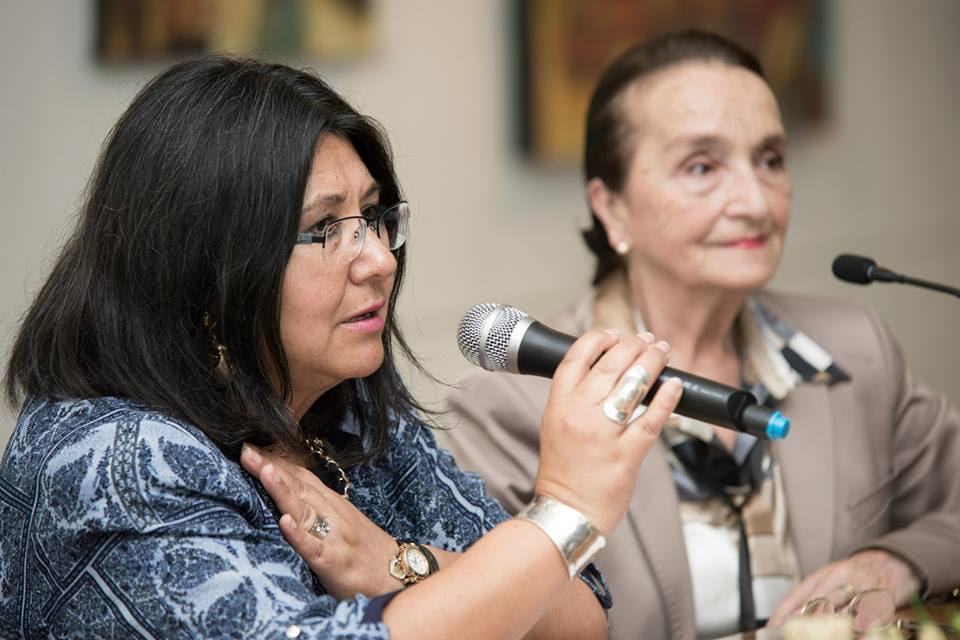Violeta Cáceres y Gloria Varela | Semana Cultural de Lota