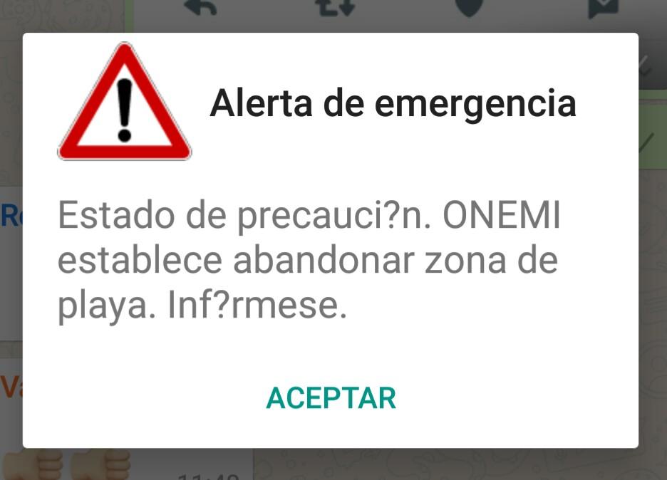 Alerta Onemi