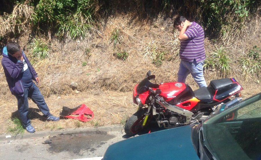 vehículo involucrado en accidente de tránsito