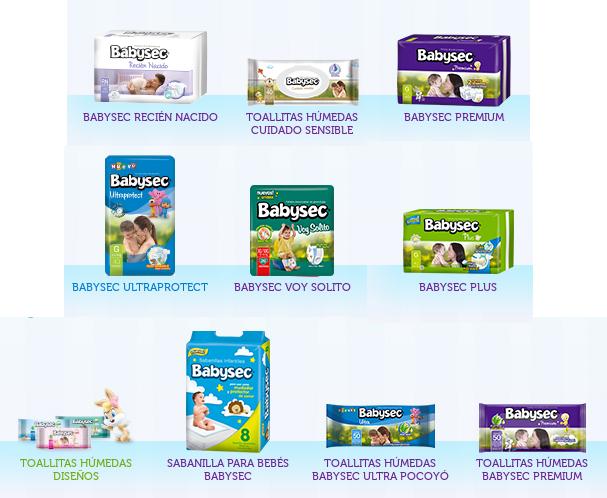 Productos Babysec