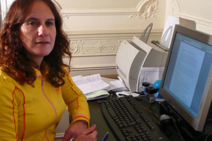 La escritora Corinne Maier