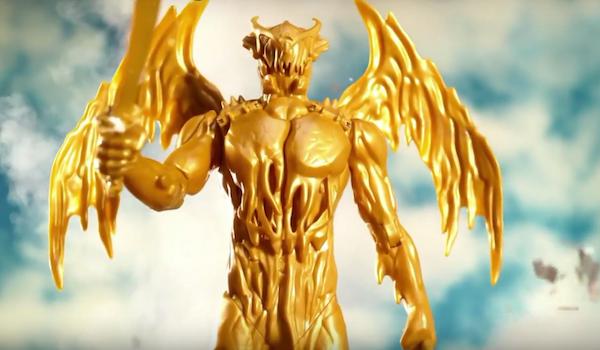 """""""Goldar"""" en la película de los Power Rangers lucirá totalmente al de la TV"""