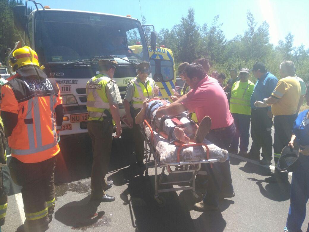 Rescate heridos