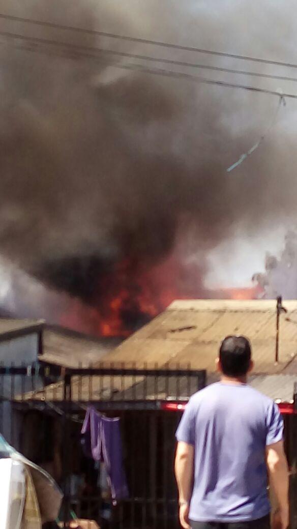 Incendio en Talcahuano