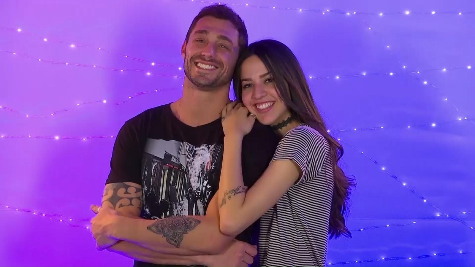 José Luis Bibbó y su pareja | Mega