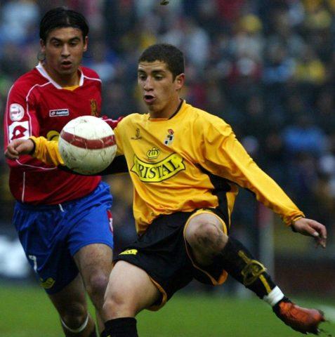 Carmona defendiendo la camiseta de Coquimbo / Luis Hidalgo / AFP