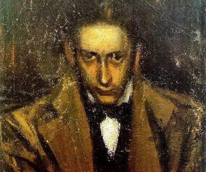 Carlos Casagemas, dibujado por Pablo Picasso
