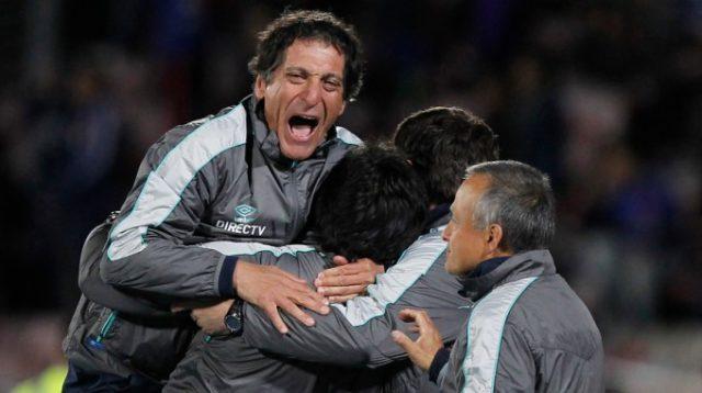 Salas celebra la eliminación a la U en Copa Chile | Archivo Agencia UNO