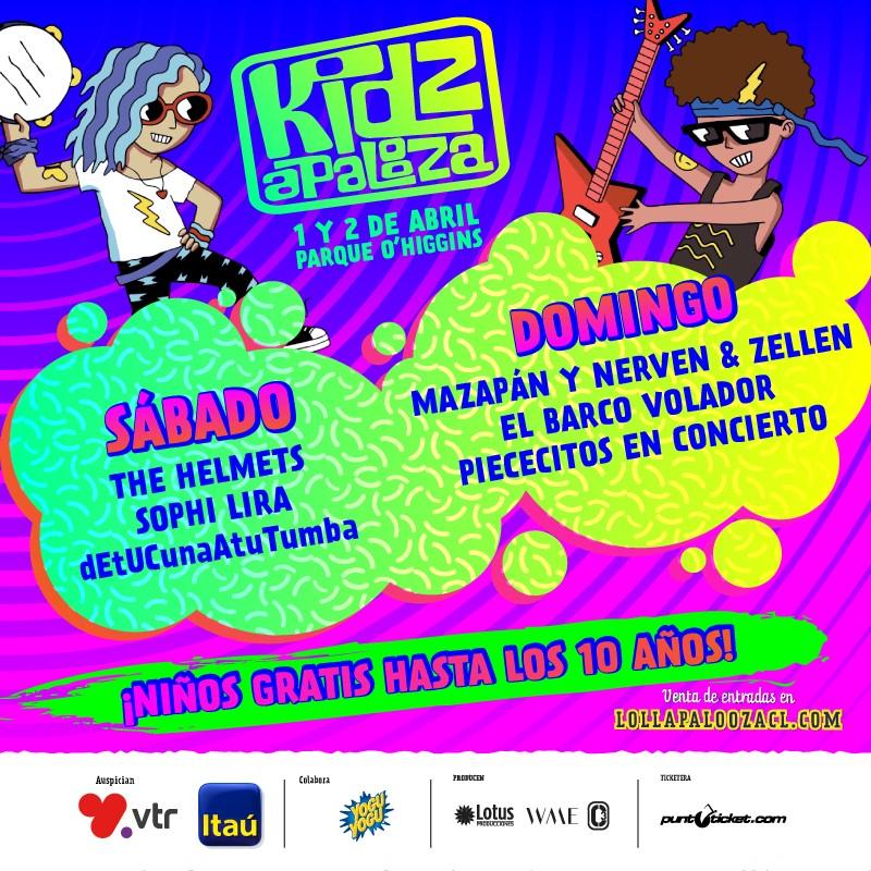 Cartel de Kidzapalooza