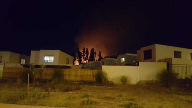 Incendio en placilla | @RNEValparaiso