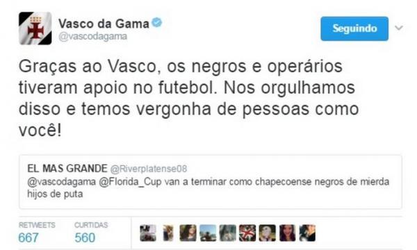 Respuesta del Vasco