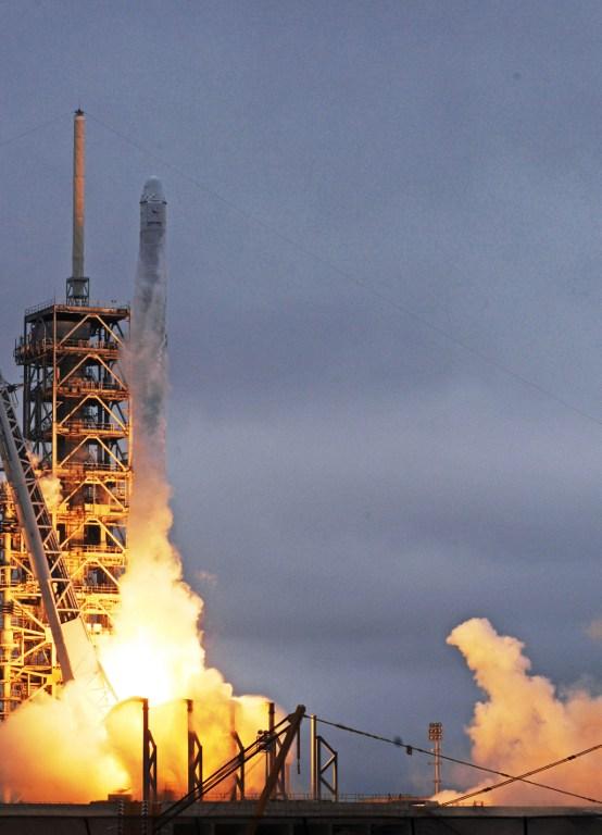 Imagen del lanzamiento | AFP