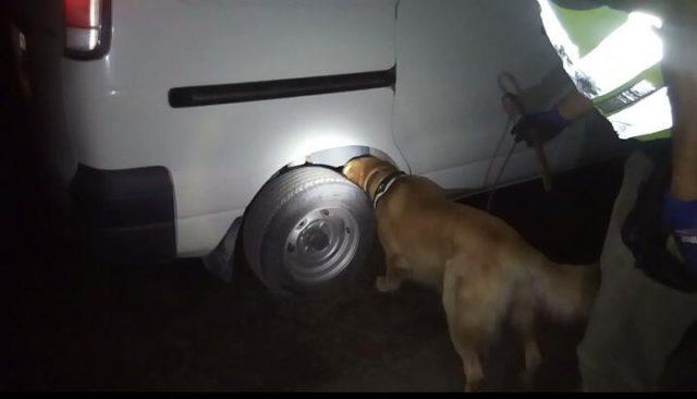 Carabineros detención hombre con drogas en Arica