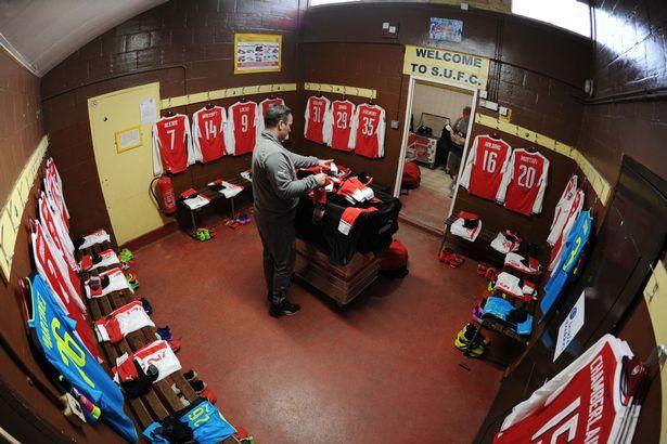 Así recibieron el camarín los 'Gunners' | Arsenal FC