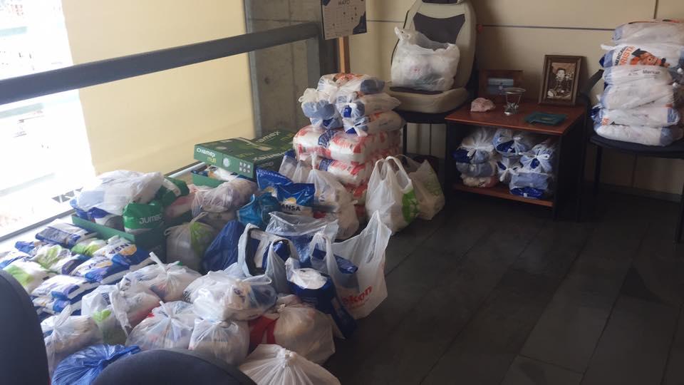 Donación de azúcar del Centro de Justicia de Santiago | Poder Judicial