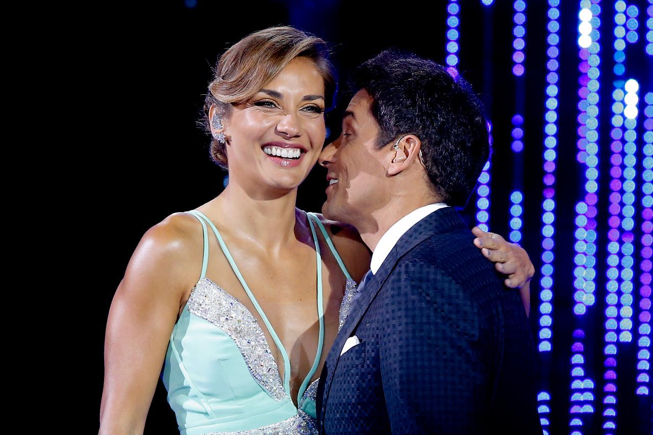 Carolina de Moras se atreve con llamativo vestido verde menta en segunda noche de Viña