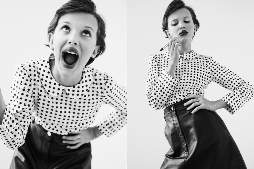 Millie Bobby Brown firma contrato con la misma agencia de modelaje de Gigi Hadid