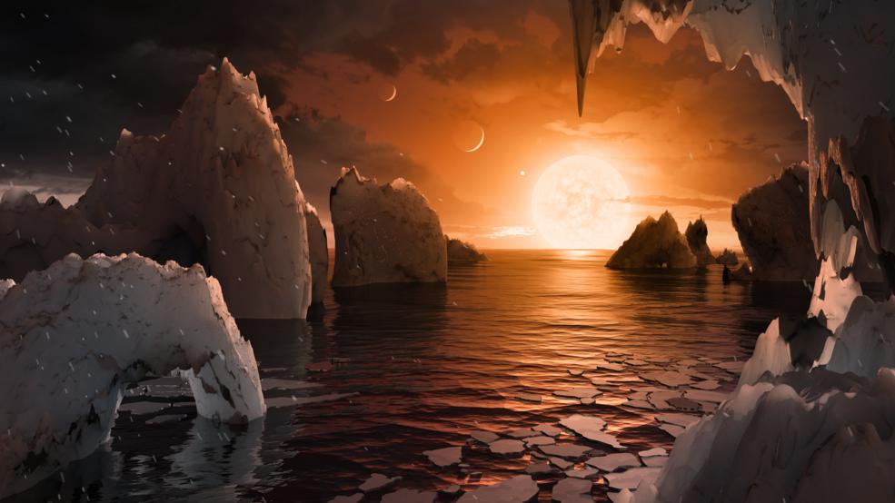 NASA anuncia hallazgo de 7 exoplanetas del tamaño de la Tierra donde se buscará vida