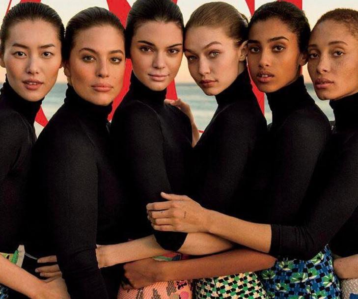 Vogue recibe ola de críticas por photoshopear portada para ocultar a modelo talla grande
