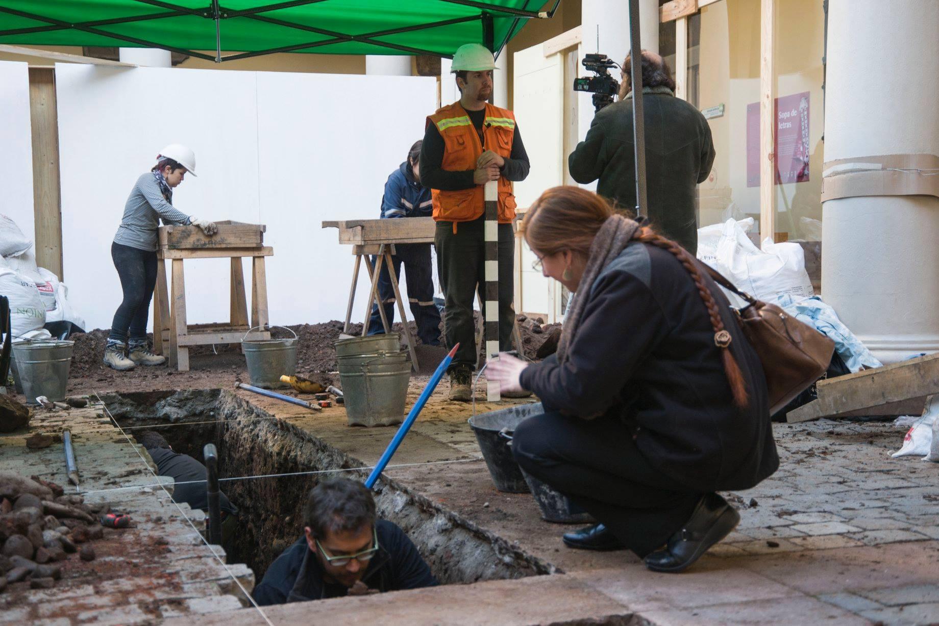 Imagen de la excavación  | Facebook.com/museohistoriconacional