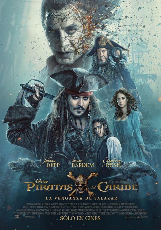 Lanzan nuevo tráiler oficial de Piratas del Caribe 5: muestra a un joven Jack Sparrow