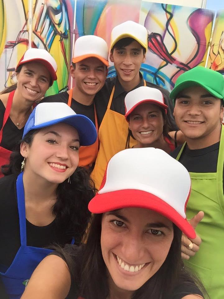 Jóvenes de Fundación Paternitas en la versión 2016 | Paternitas