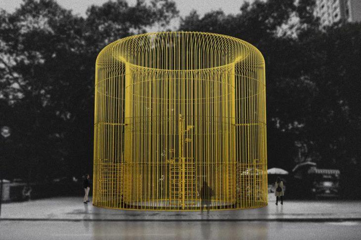 Representación de una de las piezas del proyecto | Ai Weiwei Studio
