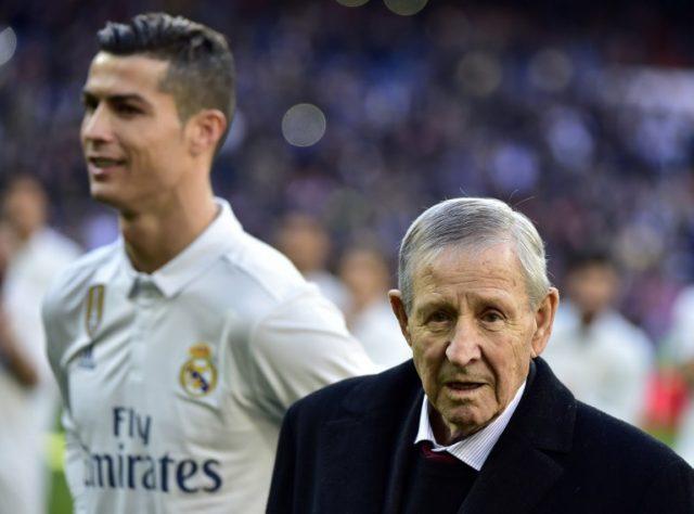 Cristiano Ronaldo y Raymond Kopa | Archivo / GERARD JULIEN - AFP