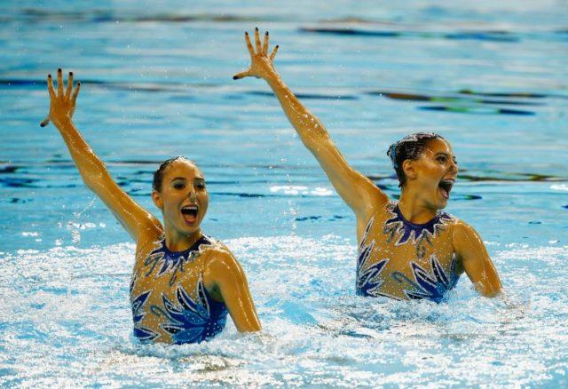 Kelley Kobler y Natalie Lubascher | Agence France Presse