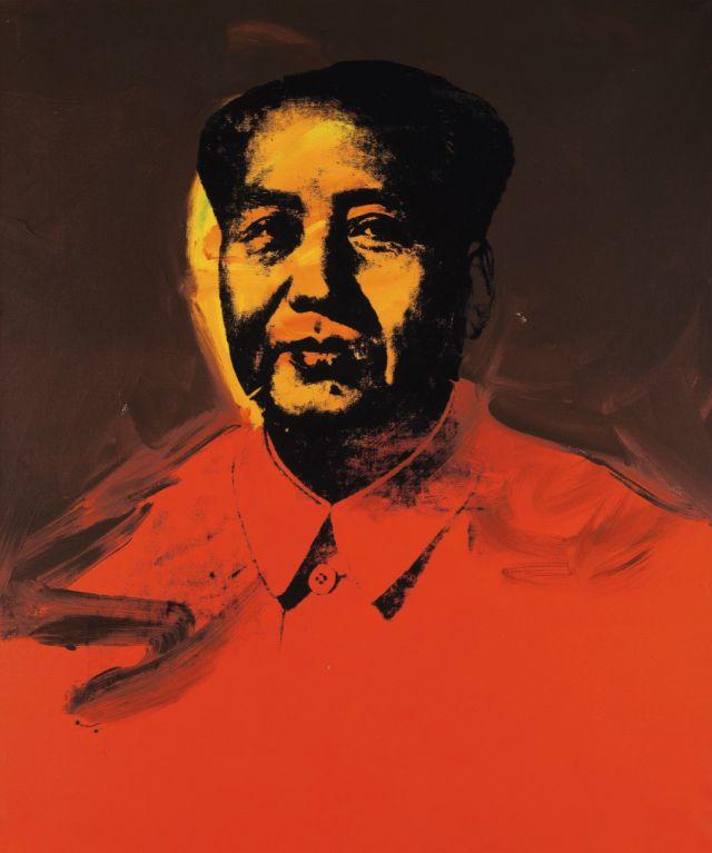 Mao por  Andy Warhol