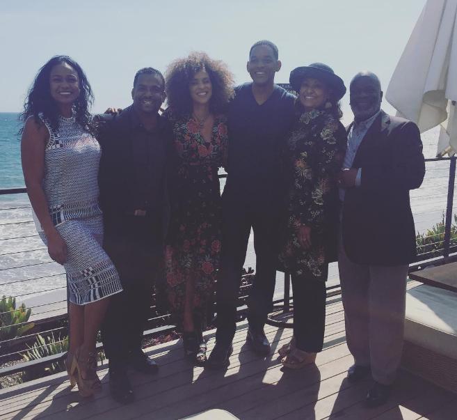 """Will Smith se reúne con actores de """"El príncipe del rap"""" a 21 años del fin de la serie"""