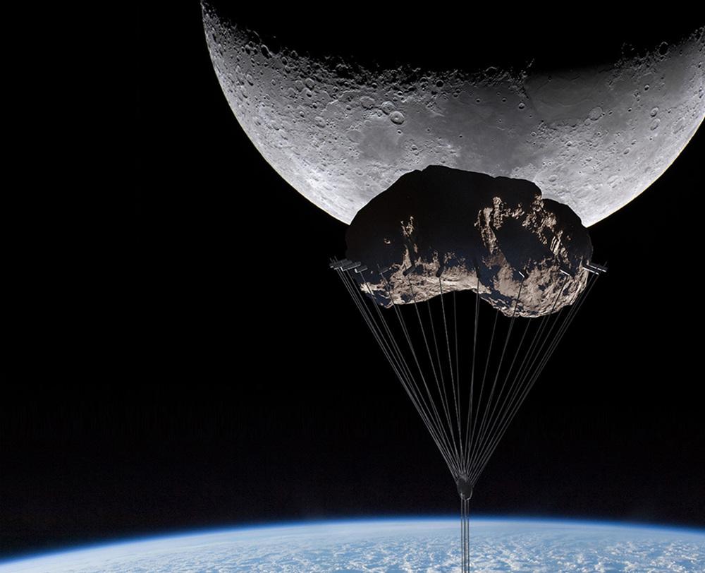 """Presentan planos para crear rascacielos que """"flota"""" en el cielo y llega al espacio"""