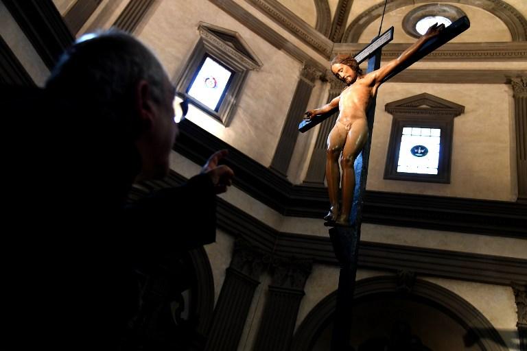 El crucifijo | Agencia AFP | Alberto Pizzoli