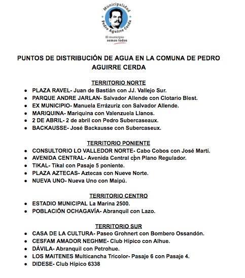 Municipalidad Pedro Aguirre Cerda