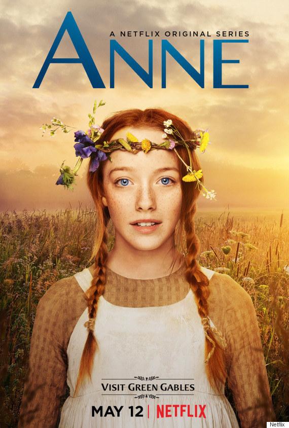 "Critican afiche de Netflix de ""Anne of Green Gables"" por excesivo retoque a protagonista"