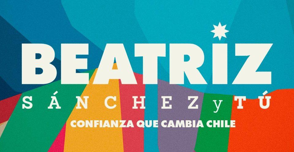 Diseño de campaña de Beatriz Sánchez
