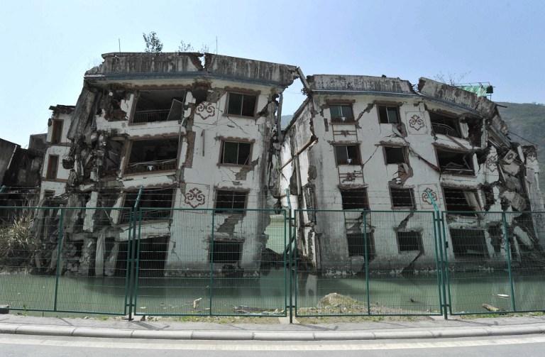 Beichuan en 2013, a 5 años del catastrófico terremoto | STR | AFP