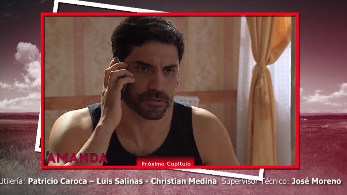 """Se revela gran secreto en """"Amanda"""" que impacta a televidentes: Víctor es un Santa Cruz"""