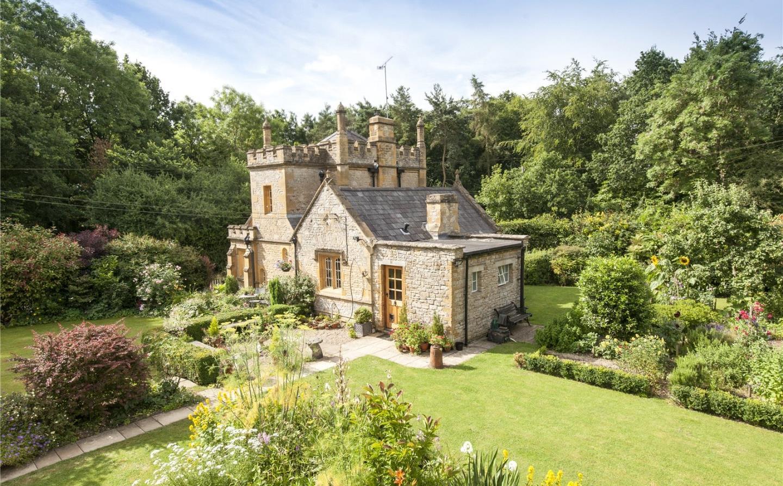 El castillo más pequeñito del Reino Unido es puesto a la venta