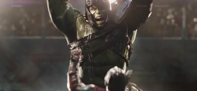 """Hulk hace aparición especial en primer teaser tráiler de """"Thor: Ragnarok"""""""