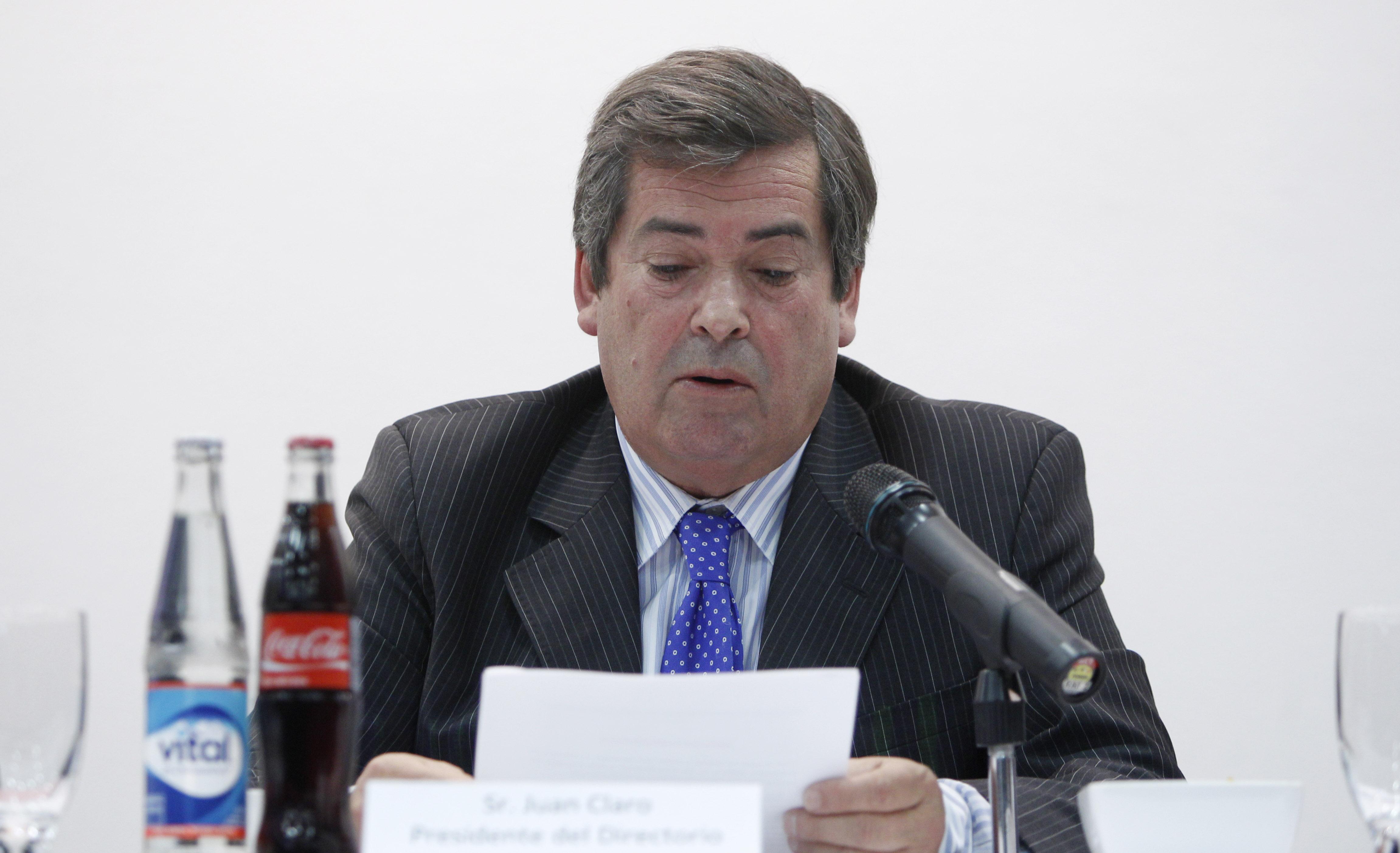Juan Claro, empresario y miembro de la CALCH