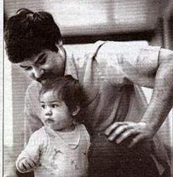 Keanu y su padre Sam