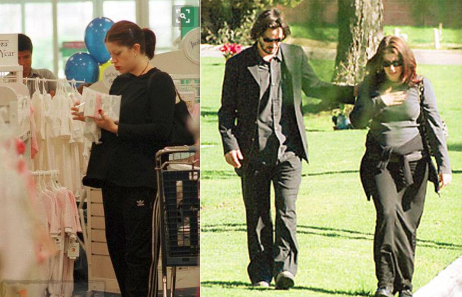 Jennifer y Keanu visitando la tumba de su hija | People