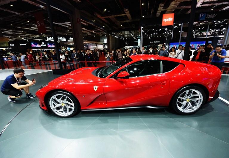 Un Ferrari 812 | Agence France-Presse
