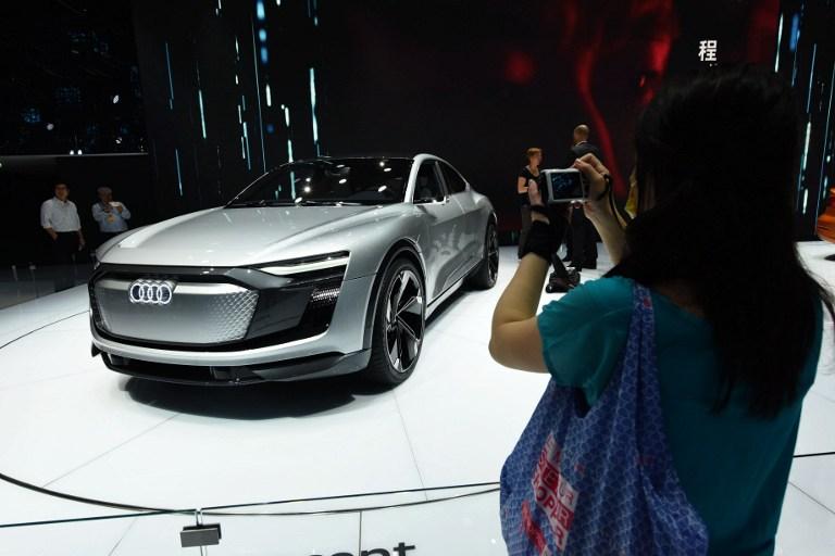 Audi e-tron Sportback Concept | Agence France-Presse