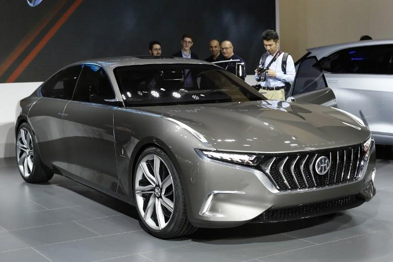 Modelo conceptual del Hybrid Kinetic Group | Agence France-Presse