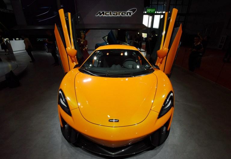 McLaren |  Agence France-Presse